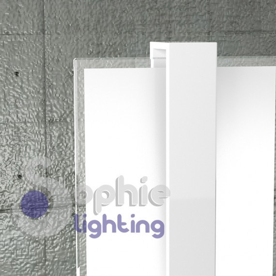 Lampade Da Tavolo Moderne Acciaio : Lampada tavolo abat jour lumetto acciaio cromo bianco