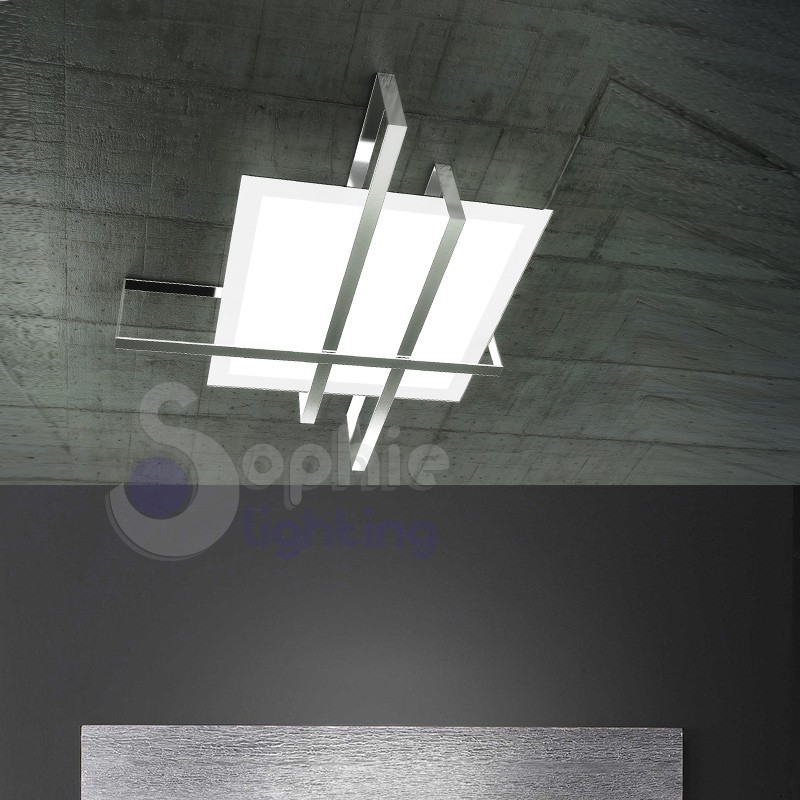 Lampada soffitto design moderno minimal for Brico lampadari