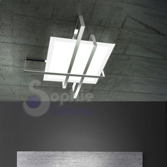 Lampada soffitto design moderno minimal for Plafoniere moderne