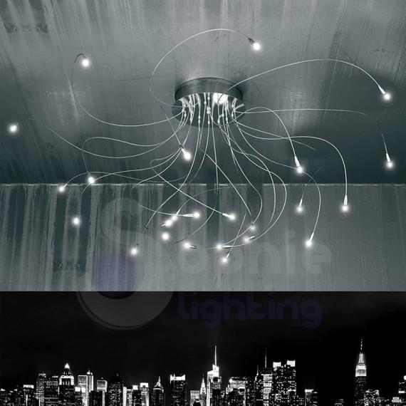Plafoniera soffitto con bracci estendibili-1005/PL24