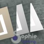 Plafoniera LED pannello slim design moderno miimalista soffitto basso