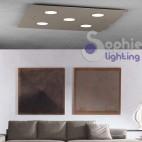 Lampada LED 35W luce naturale soffitto basso design moderno mansarda