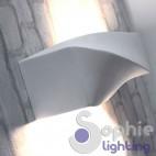 Lampada parete LED design moderno gesso pitturabile corridoio ingresso