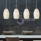 Lampada sospensione Led 4 luci regolabile cucina