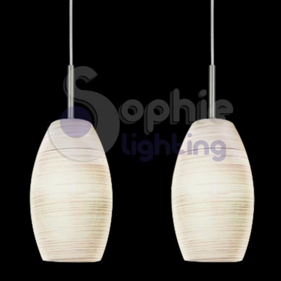 sospensione 3 luci led penisola cucina - Lampadario Sospensione Cucina