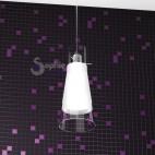 Sospensione decentrabile 1 luce design moderno