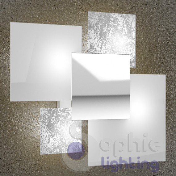 Lampadario sospensione LED moderna paralume bianco rame tavolo cucina