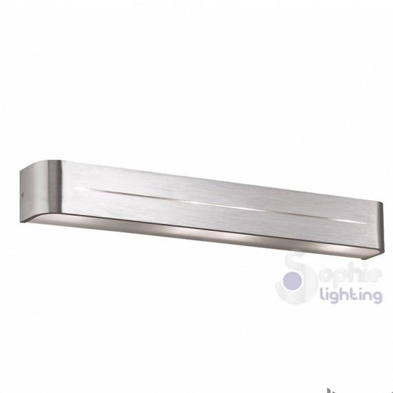 Applique corridoio design moderno acciaio spazzolato
