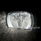 Applique design moderno elegante vetro cristallo