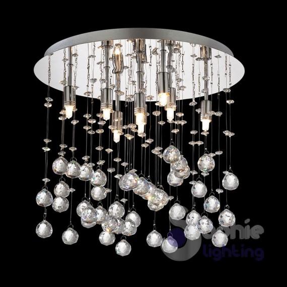 Lampada soffitto pendenti cristallo-MOONLIGHT-PL8