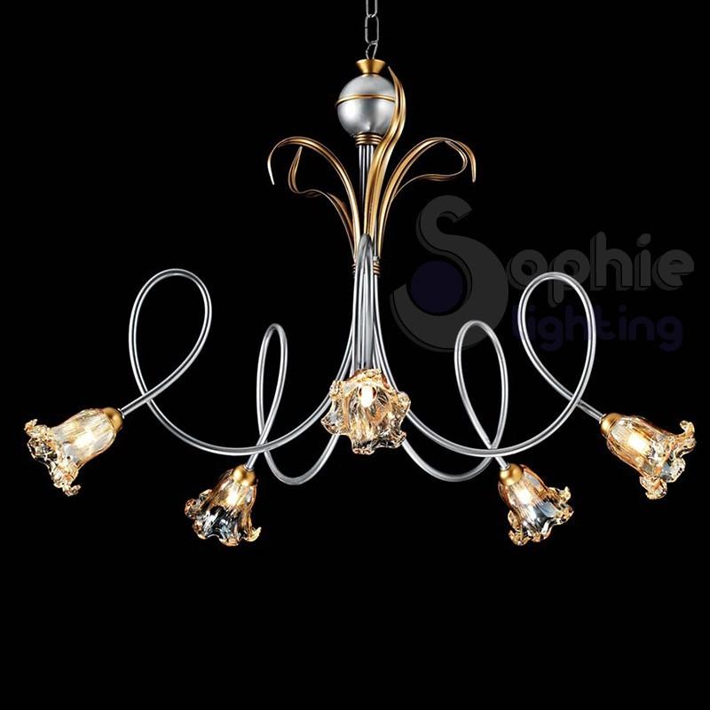 Lampadari classici sophie lighting - Lampadario classico camera da letto ...