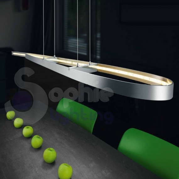 Lampada sospensione led design moderno minimal Sospensioni Moderne Led