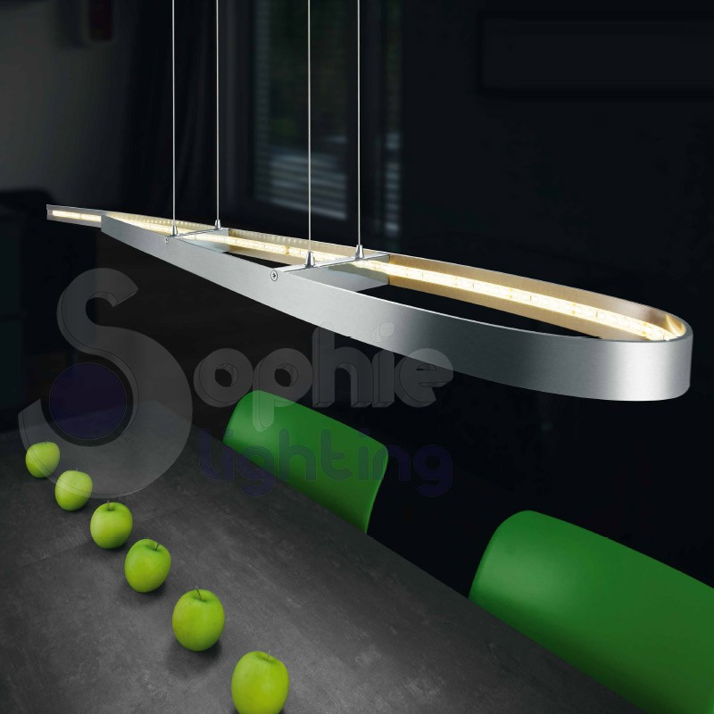 sospensione led design moderno minimal