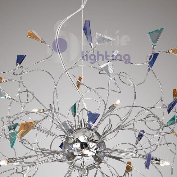 Lampadario led colorati la collezione di disegni di lampade che presentiamo nell - Lampadari colorati design ...