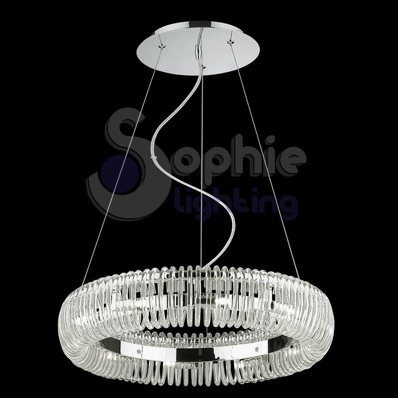 Lampada sospensione design moderno sala da pranzo