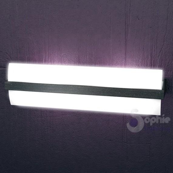 Lampada parete lunga 50 cm design moderno luce alto basso