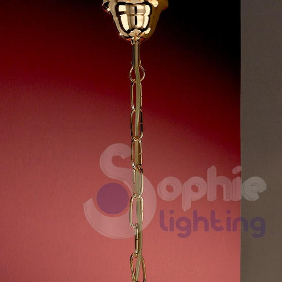 Lampadario moderno 3 luci cromato oro paralumi avorio lampadari mod...