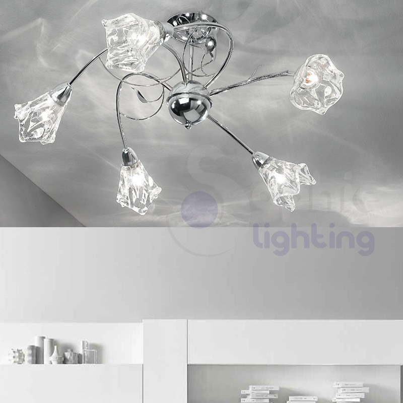 Plafoniere sophie lighting for Plafoniera moderna