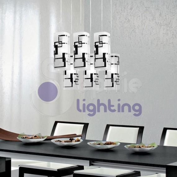 Lampada sospensione cucina-TEOREMA-S6