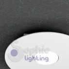 Faretto plafoniera LED 9W acciaio bianco moderno bagno ingresso