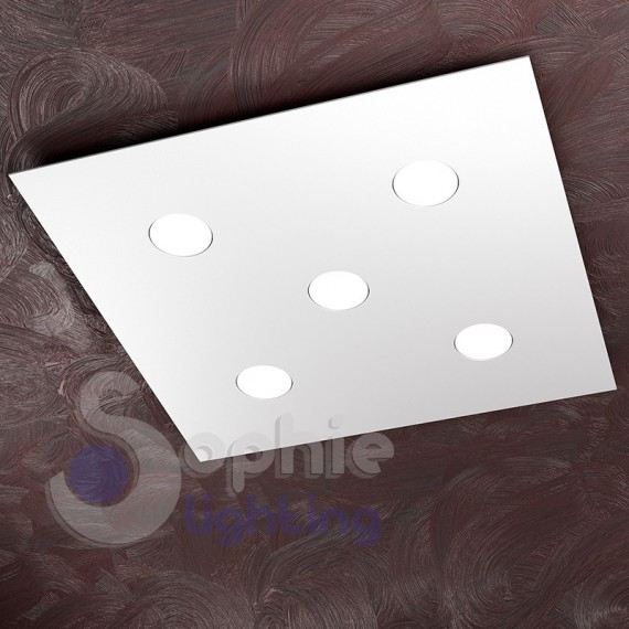 ... ultra slim 3,3 cm soffitti bassi design minimal moderno acciaio bianco