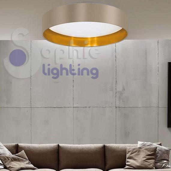 Plafoniera lampadario soffitto led 18w luce calda design - Meglio luce calda o fredda in cucina ...