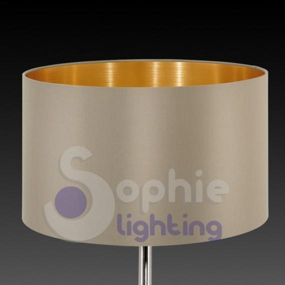 Lampada lumetto abat jour tavolo comodino design moderno paralume o...