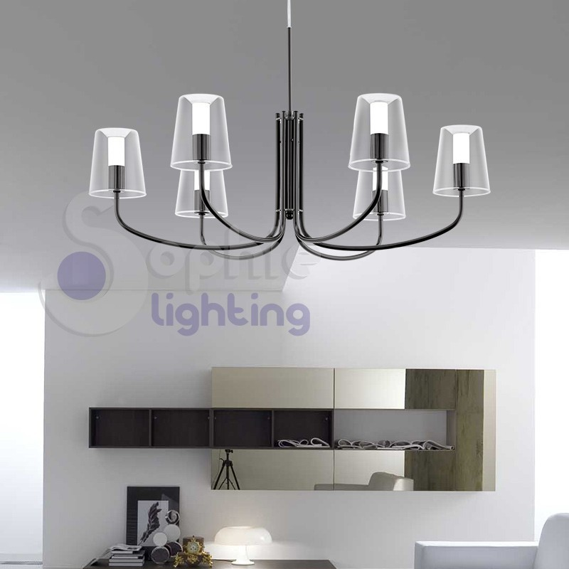 Lampadari moderni sophie lighting for Lampadari led moderni